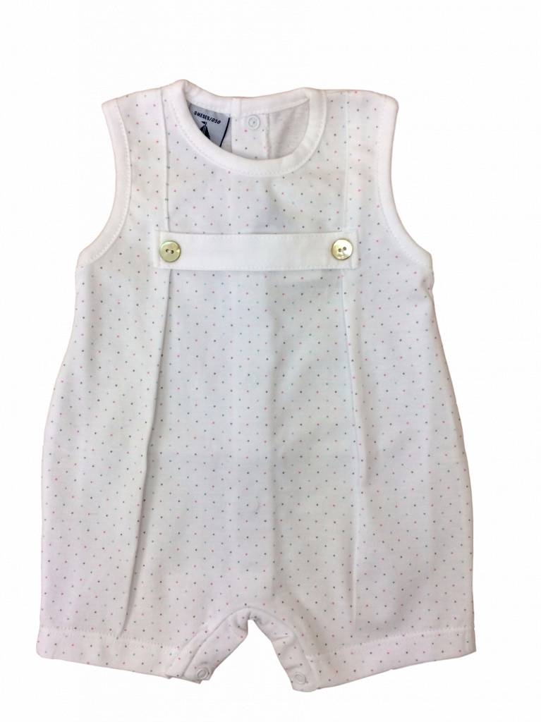 Babidu Babysuit with coloured dots