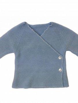 Babidu Baby vestje licht blauw