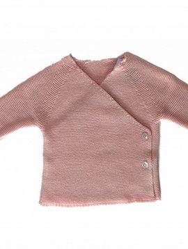 Babidu Baby vestje licht roze