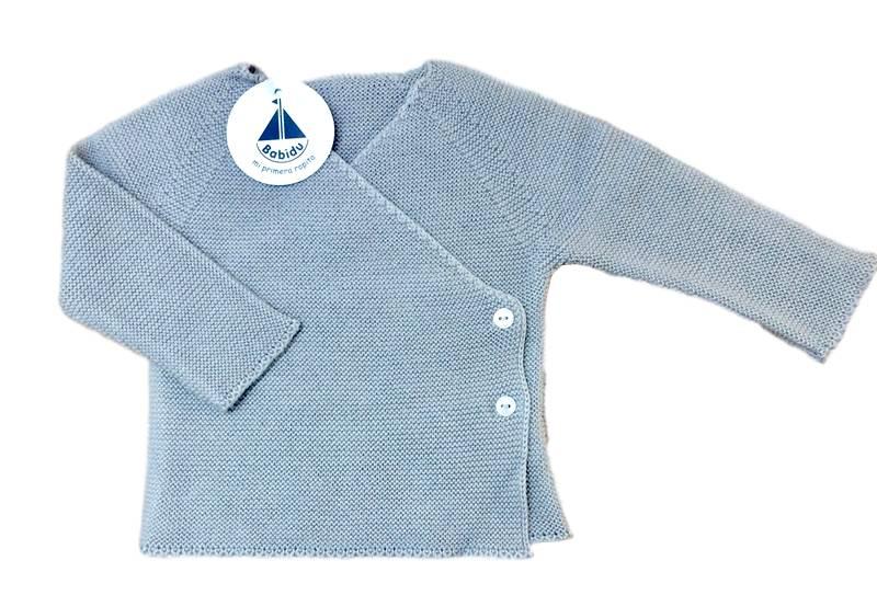 Babidu Baby vest light grey