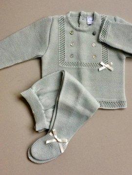 Babypakje groen