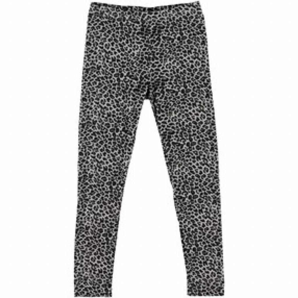 MarMar Copenhagen Leo Leg legging - luipaardprint grijs-zwart / ombre blue