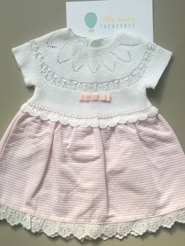 Macilusion dress pink stripes