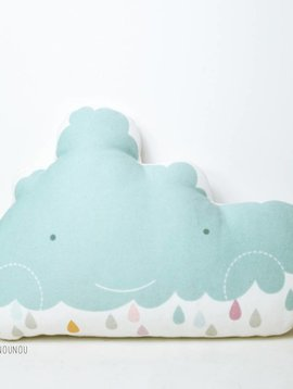 PinkNounou Happy Cloud kussen