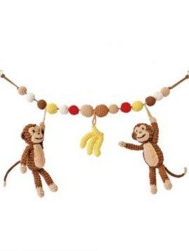 Sindibaba Wagenspanner met aapjes