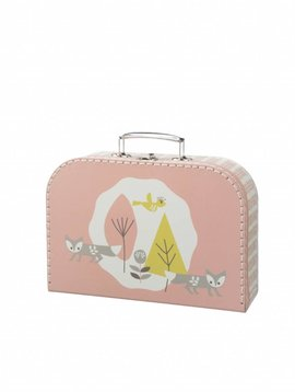 Fresk Suitcase Fox mellow rose large