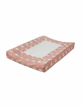Fresk Changing pad cover Whale mellow rose