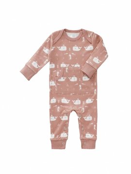 Fresk Fresk jumpsuit Whale mellow rose