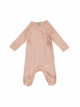 MarMar Copenhagen Rubetta modal new born jumpsuit – pink /cameo rose