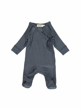 MarMar Copenhagen Rubetta modal new born jumpsuit – blauw / ombre blue