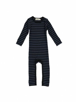 MarMar Copenhagen Stripes Jumpsuit blauw-zwart / ombre-blue