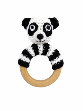 Sindibaba Ring rattle panda