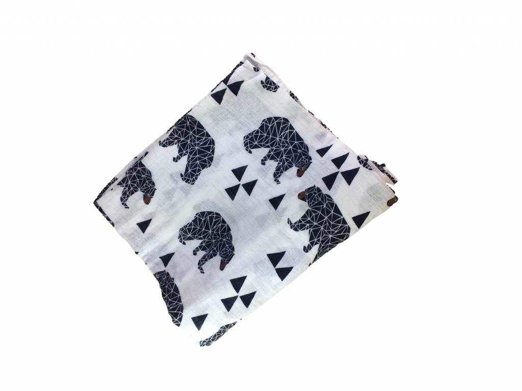 Beasty Bear swaddle  - 120x120
