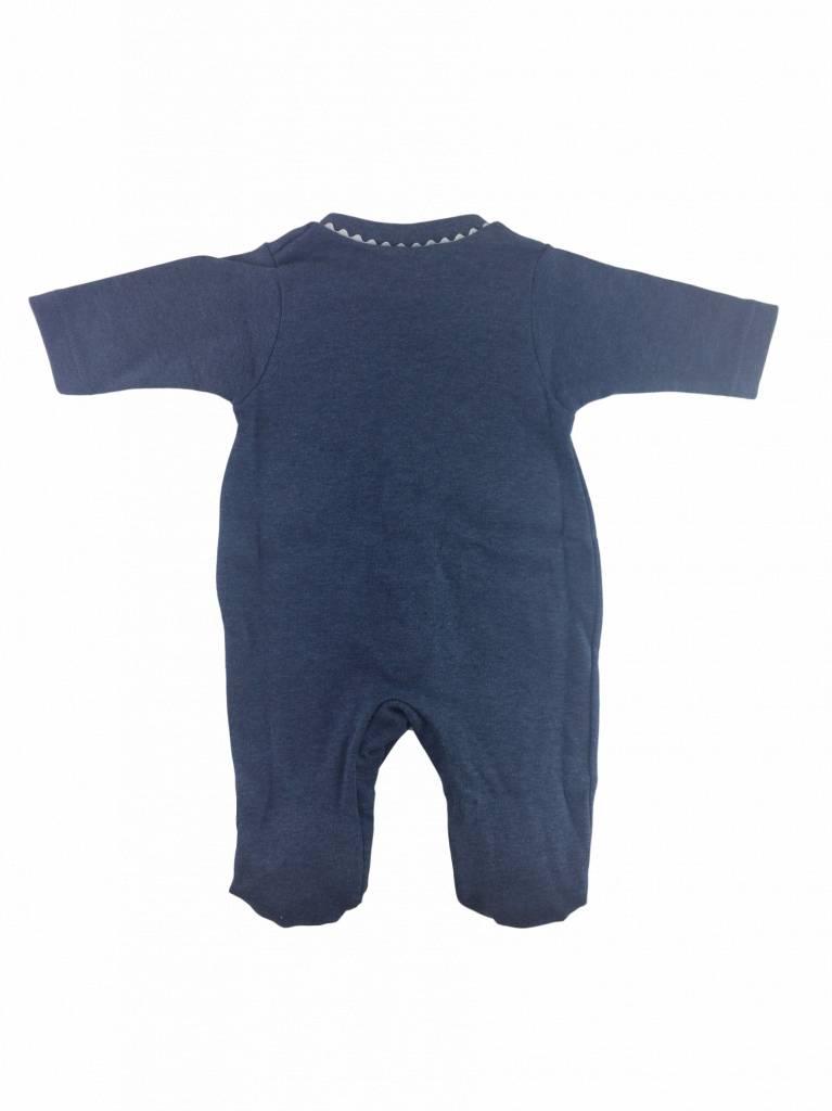 Babidu Babypakje vlaggetjes - donkerblauw