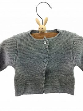 Babidu Baby vestje – grijs