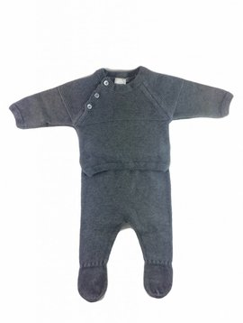 Babidu Babysuit wool - grey