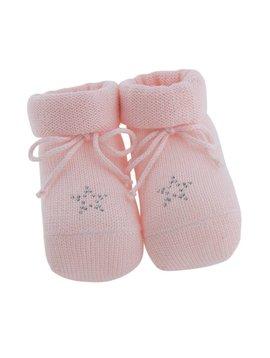 Paolo Romboli Babyslofjes met sterretje – roze