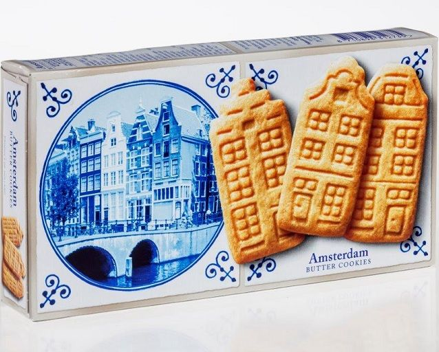 Delft Blue Stroopwafel Experience Amsterdam Butter Cookies Delft Blue