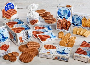 Delft Blue Holland Stroopwafels