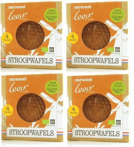 Caramel Gluten Free Stroopwafels (4x4)