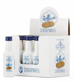 Van Meers Van Meers Stroopwafel Likeur 50 ml (12 stuks) tray