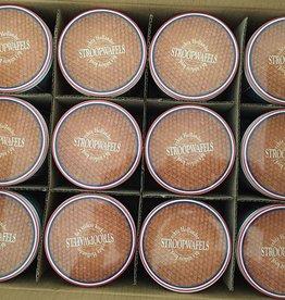 Stroopwafel blikken Nederland (doos 12 blikken)