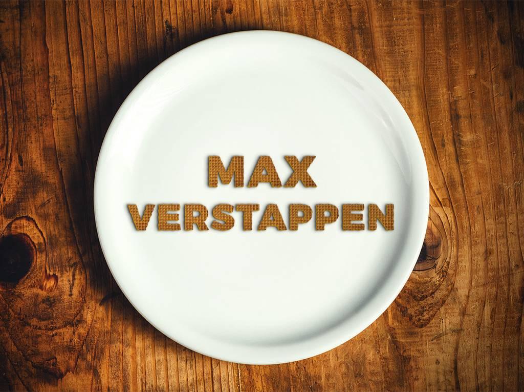 Max Verstappen stroopwafels