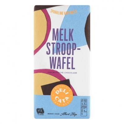 Stroopwafel Chocolate Bar