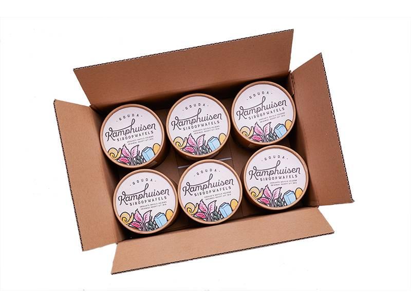 Gouda Kamphuisen Siroopwafels Kamphuisen Stroopwafels (Siroopwafels) Gift Tin