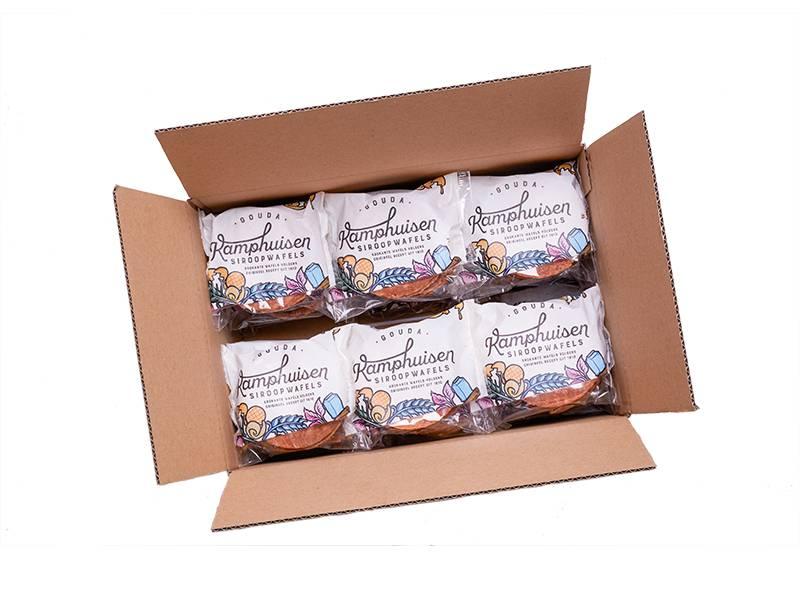 Gouda Kamphuisen Siroopwafels Kamphuisen 5 pack Siroopwafels