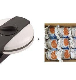 Stroopwafel Iron + Stroopwafel Box