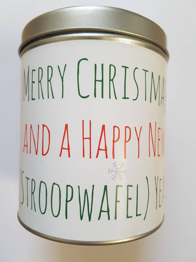 Stroopwafel World Christmas Tin Gift