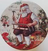 Kerstblik met heerlijke stroopwafels