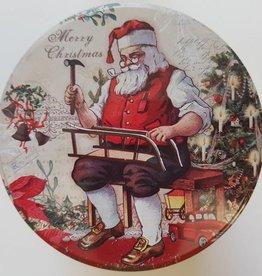 Kerst stroopwafels in blik