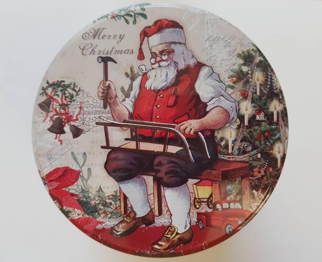 Christmas syrupwaffle tin