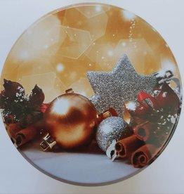Kerstblik cadeau Dutch stroopwafels