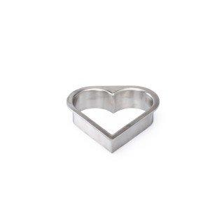 Stroopwafel steker hartvorm