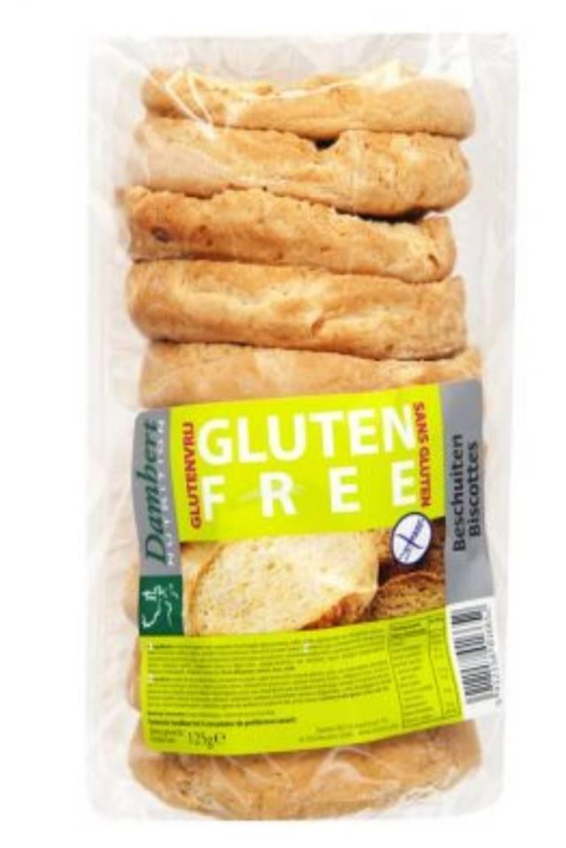 Gluten free beschuit