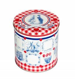 I love Holland syrupwaffle Valentines tin