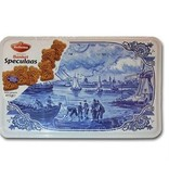 Hellema Delft Blue Dutch Speculaas Box