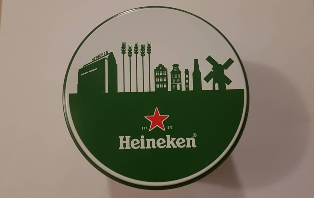 Heineken stroopwafel cannister gift