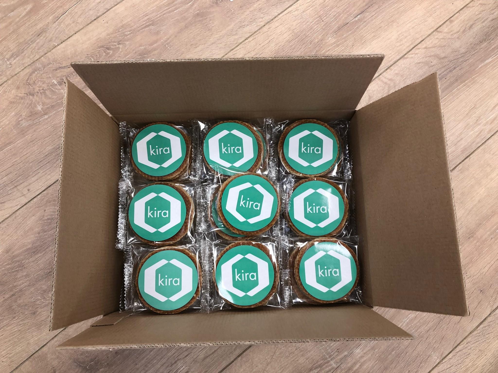 Two pack stroopwafels 50 (two packs) per doos