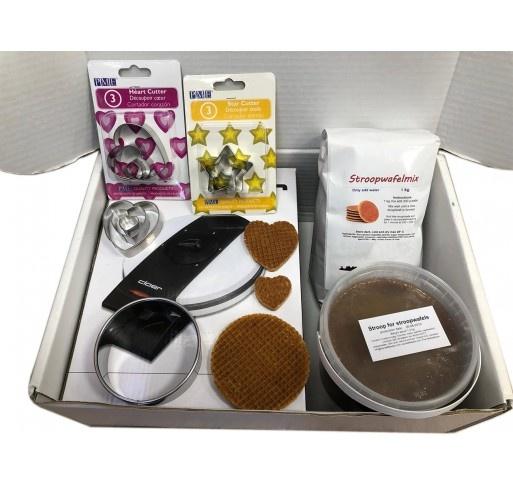 Stroopwafel self baking starters set