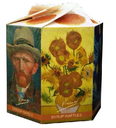Vincent van Gogh syrupwaffles