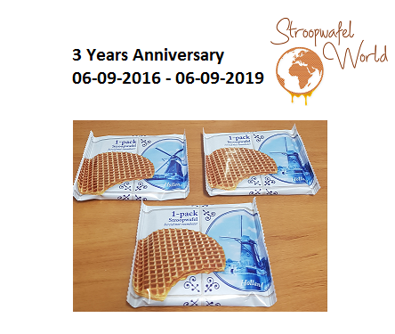 Stroopwafel World 3 jaar!