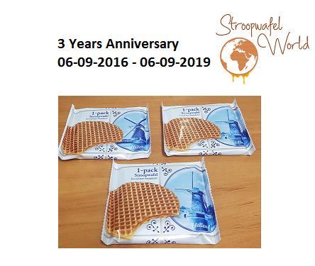 Stroopwafel World 3 jaar!