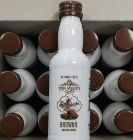 Van Meers Van Meers Brownie Likeur 50 ml (12 stuks) tray