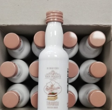 Van Meers Tiramisu Liqueur tray (12 shots)