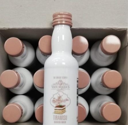 Van Meers Van Meers Tiramisu Liqueur tray (12 shots)
