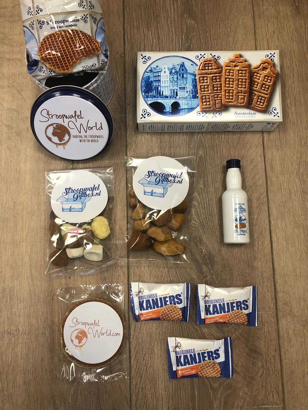 Stroopwafel Sinterklaas World Giftbag